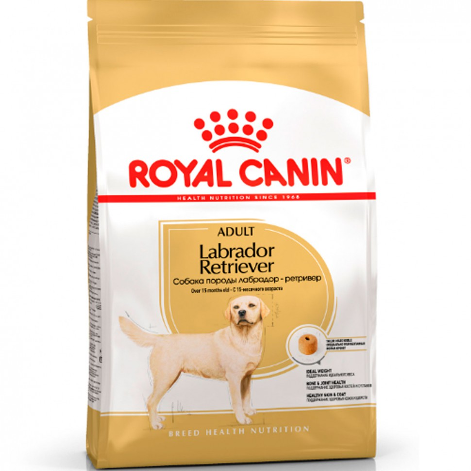 Royal Canin Labrador Retriever Adult сухой корм для собак породы Лабрадор Ретривер